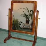 Ukázka restaurovaného zámeckého zrcadla