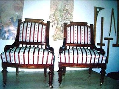 Čalounění historického nábytku
